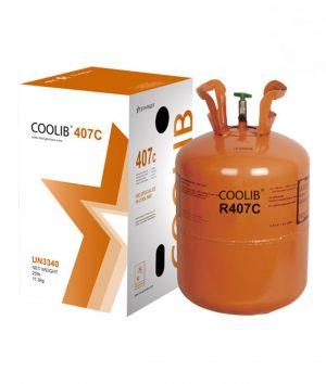 گاز مبرد فریون R407C کولیب