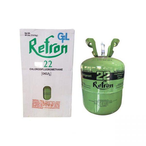 گاز مبرد فریون R22 رفرون (Refron)