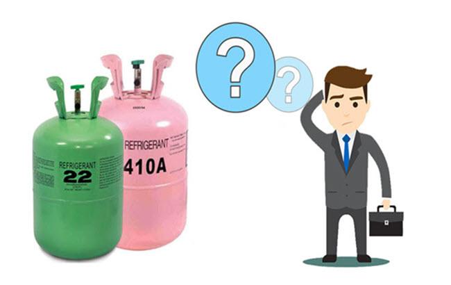 تفاوت بین گاز R410 و R22