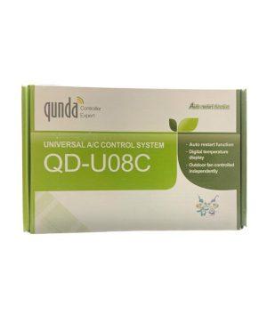 برد همه کاره نمایشگر دار کولر گازی qunda مدل QD-U08C