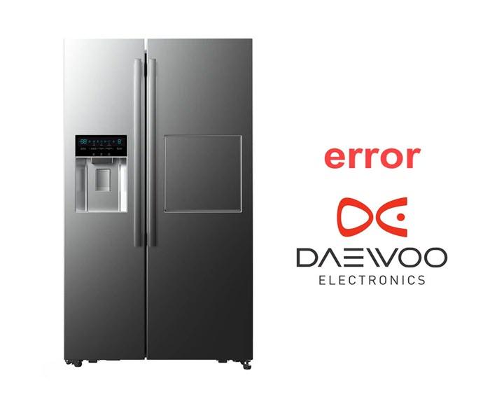 کد های خطا یا ارور یخچال های دوو