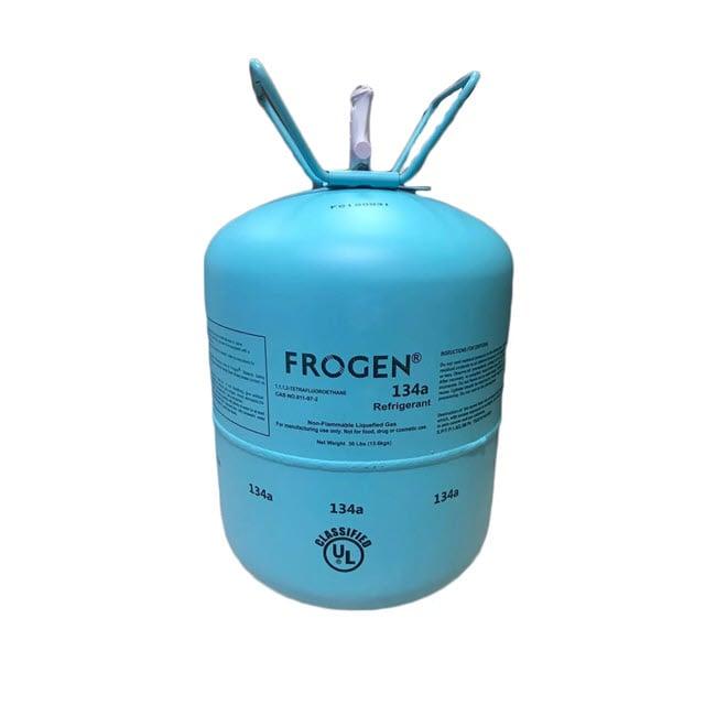 گاز مبرد فریون R134a فروژن (FROGEN)