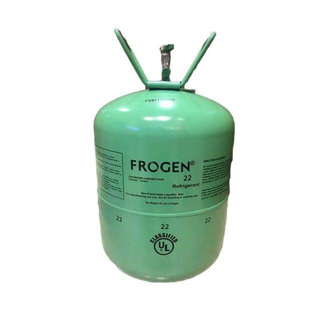 گاز مبرد فریون R22 فروژن (FROGEN)