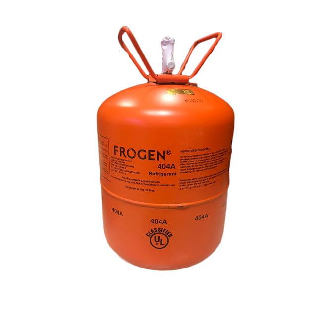 گاز مبرد فریون R404a فروژن (FROGEN)