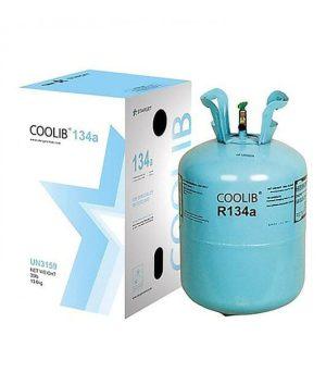گاز مبرد فریون R134a کولیب COOLIB