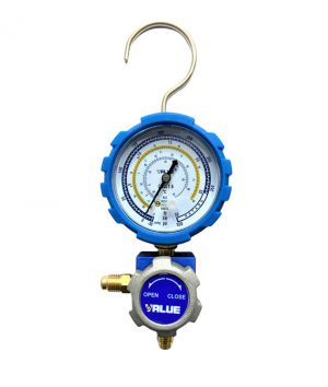 گیج تک آبی شیر دار والو VALUE مدل VMG-1-U-L